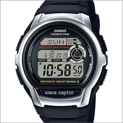 CASIO カシオ 腕時計 WV-M60-1AJF メンズ wave ce...