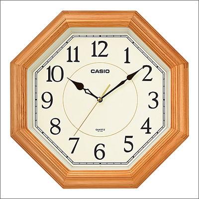 CASIO カシオ クロック IQ-123S-7JF 掛時計 壁掛...