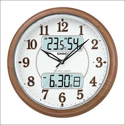 CASIO カシオ クロック ITM-900FLJ-5JF 掛時計 壁...