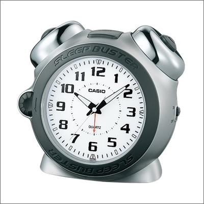 CASIO カシオ クロック TQ-645S-8JF 目覚まし時計...