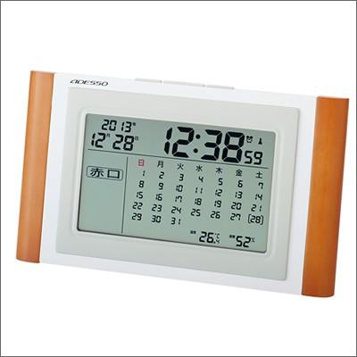 ADESSO アデッソ クロック TCA-051 カレンダー電...