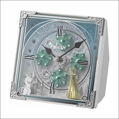 リズム時計 クロック 4RH784MA03 アナと雪の女王...