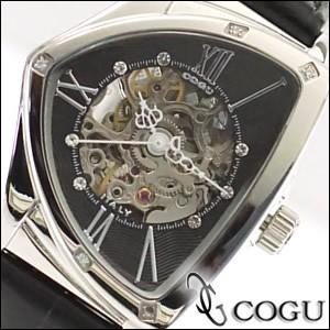 COGU コグ 腕時計 BS01T-BK レディース 自動巻き ...
