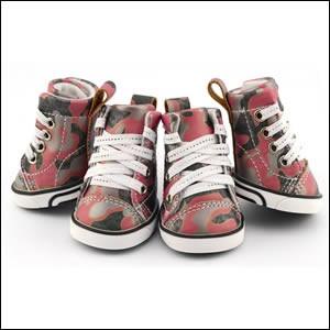 ドッグシューズ ペット用品 犬用靴 Camouflage sh...