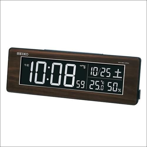 SEIKO セイコー クロック DL210B 置時計 デジタル...