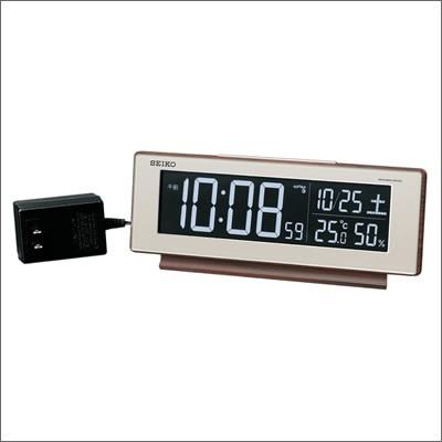 SEIKO セイコー クロック DL211B 置時計 電波