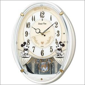 SEIKO セイコー クロック FW579W 掛時計 ミッキー...