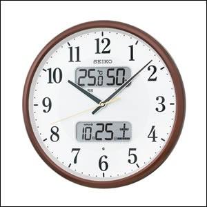 SEIKO セイコー クロック KX383B 掛時計 電波時計...