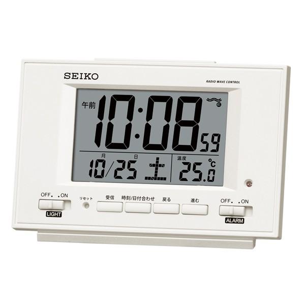 【正規品】SEIKO セイコー クロック SQ778W 電波...