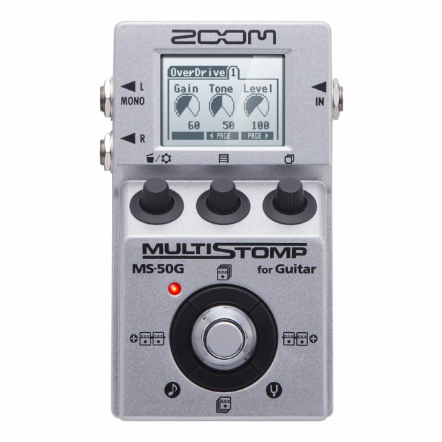 ZOOM MultiStomp MS-50G ギターエフェクター