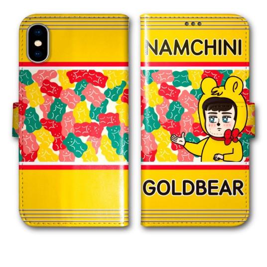 BAN8 NAMCHINI ナムチニ デザイン 機種専用 手帳...