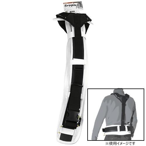 安全ベルト 腰袋 装着用 サポートベルトセット 白...