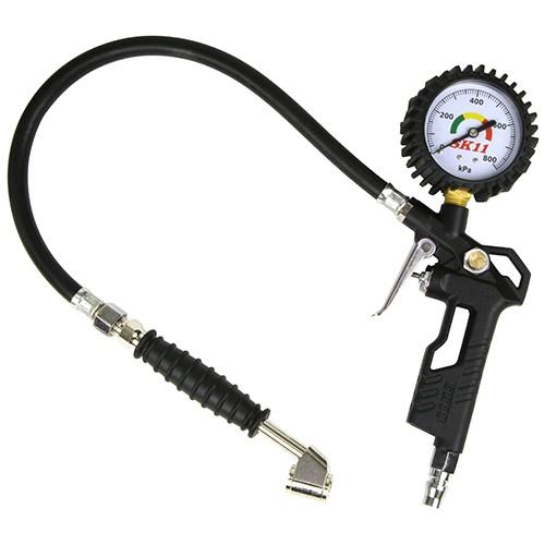 空気圧 チェッカー 自転車 (SK11) エアーチャック...
