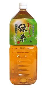 ★まとめ買い★ MRI おいしい緑茶2L <国産茶葉...