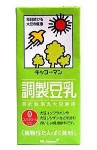★まとめ買い★ キッコーマン 調製豆乳1L ×6...