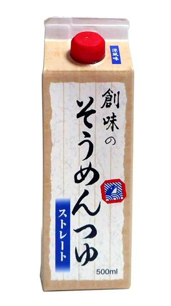 ★まとめ買い★ 創味 そうめんつゆ 500ml ×6...