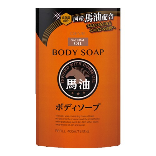 熊野油脂(株) ディブ 馬油ボディソープ 詰替...
