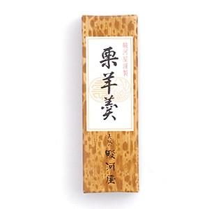 (株)大阪の駿河屋 小形羊羹 栗羊羹 50g ...
