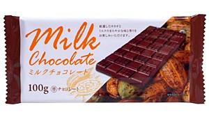 ドウシシャ 板チョコミルクチョコレート 100g【...