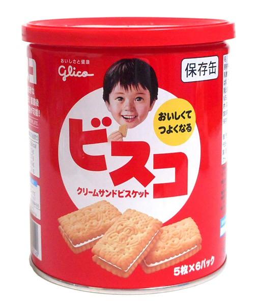 グリコ ビスコ保存缶30枚【イージャパンモール】...