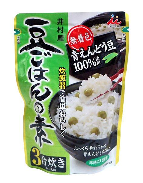 井村屋 豆ご飯の素230g【イージャパンモール】