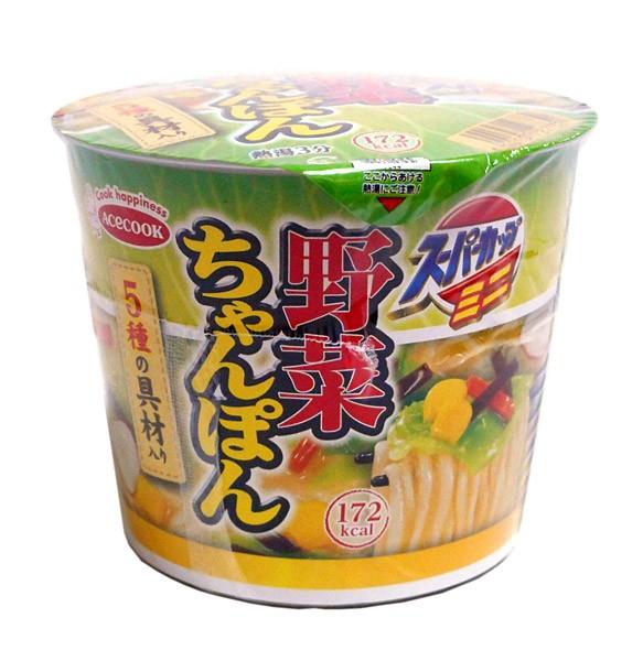 エースコック スーパーカップミニ野菜チャンポン ...