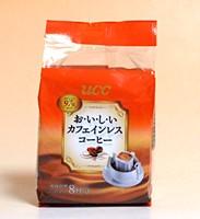 UCCおいしいカフェインレスコーヒードリップコー...