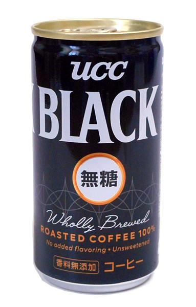 UCC BLACK無糖 185g【イージャパンモール】