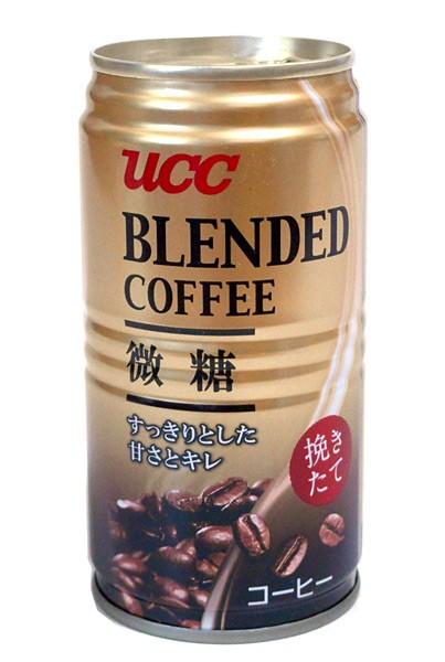 UCC ブレンドコーヒー 微糖 185g【イージャパ...