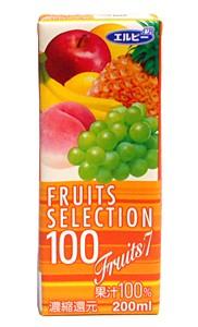 エルビーフルーツセレクション フルーツMIX 200...