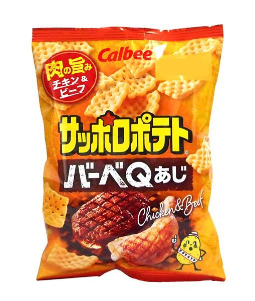 カルビー(株) サッポロポテト バーベQあじ 24g...