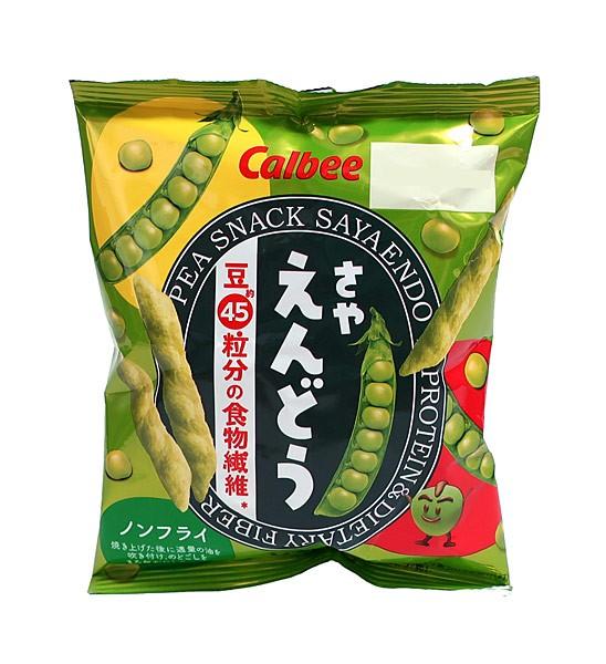 カルビー(株) さやえんどう さっぱりしお味 26g...
