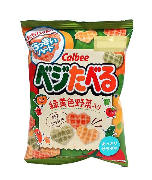 カルビー(株) ベジたべる あっさりサラダ味 18g...