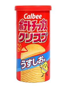 カルビー ポテトチップスクリスプウスシオ味 50g...