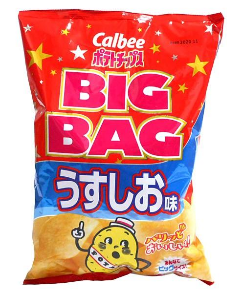 カルビー(株) ポテトチップス BIGBAGうすしお味...