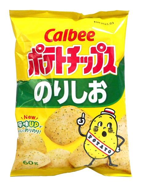 カルビー(株) ポテトチップス のりしお 60g【...