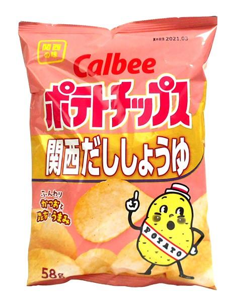 カルビー(株) ポテトチップス 関西だししょうゆ...