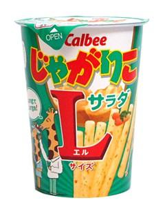 カルビー ジャガリコサラダLサイズ 72g 【イージ...