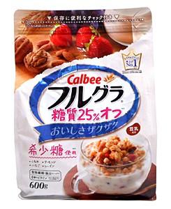 カルビー フルグラ糖質25%オフ 600g【イージャ...