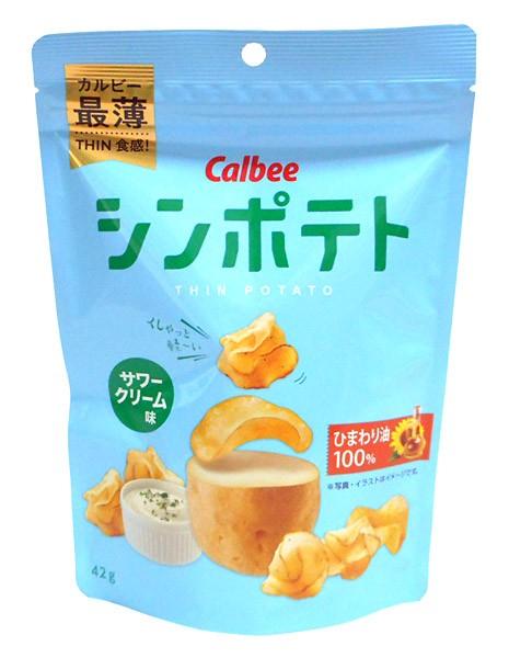 カルビー シンポテトサワークリーム味42g 【イ...