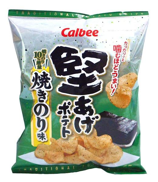カルビー 堅あげポテト焼きのり味65g【イージャ...