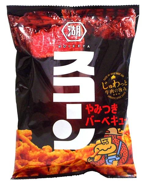 湖池屋 スコーンやみつきバーベキュー75g【イー...