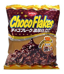 日清シスコ チョコフレーク 濃厚仕立て 70g ...
