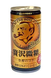 サントリー ボス 贅沢微糖 豊醇のコク 185g缶...