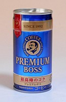 サントリー プレミアムボス 185g缶【イージャパ...