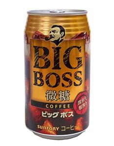 サントリー ビッグボス微糖350g缶【イージャパン...