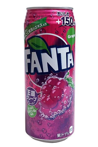 ファンタ グレープ 500mlロング缶【イージャパ...