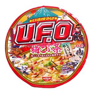 日清 UFO梅こぶ茶旨み広がる塩焼きそば【イージャ...