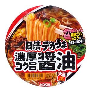 日清 デカうま 濃厚コク旨醤油 116g【イージャ...