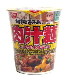 日清 AKIBAヌードル 肉汁麺ススム監修 113g【イー...